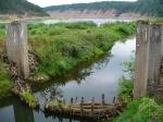 развалины гидроузла Опокстроя
