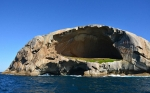 Cleft island