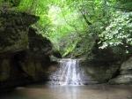 водопад в ущелье Мешоко, Адыгея