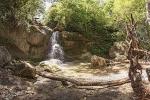 водопад в ущелье Мешоко