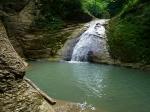 водопад в каньоне Мешоко, Адыгея