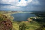 озеро Учум с высоты