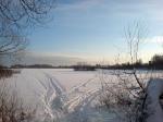 замерзшее озеро Киово