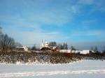 зима на озере Киово