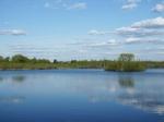 весна на озере Киово
