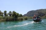 экскурсия по реке Дальян, Турция
