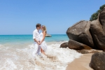 свадьба на острове Као Лак в Таиланде