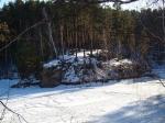 Карагайский бор зимой