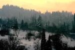 зимняя природа Грузии