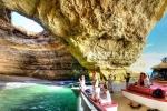 пещера пляжа Бенагил, Алгарве, Португалия