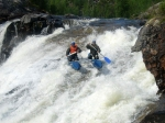 сплав на реке Кутсайоки, водопад Оба-На