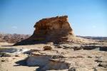Zaranik National Park in Egypte