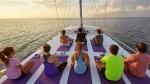 фитнес-туризм, йога на яхте