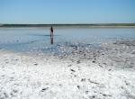 Соленое озеро, Таманский полуостров, Россия