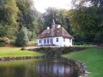 садовый домик в парке Лизелунд