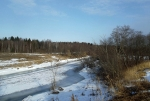 река Дубна зимой
