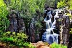Нижнеудинский водопад