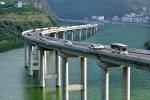 мост Самая красивая дорога над водой в Китае