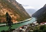 эко-мост вдоль реки, Хубэй, Китай