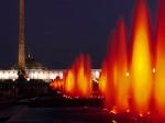 фонтаны в Парке Победы