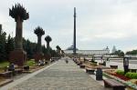 Парк Победы, вид на монумент Победы