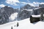 Alta Badia ski resort, Italia