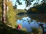 Шелеховское озеро, с. Межирич, Сумская область