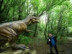 динозавр в заповеднике Сатаплиа