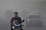 смог на улицах Китая