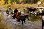 конный туризм на Байкале