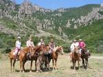 конный туризм в Адыгее