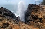 Blow hole Hummanaya, Sri Lanka