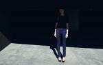 бумажные джинсы TROA