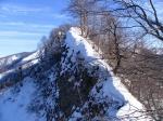 самый опасный участок маршрута на гору Амуко