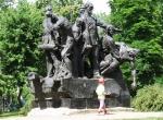 памятник экипажу бронепоезда Таращанец