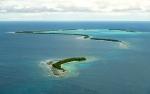 Тувалу с высоты
