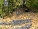 грот в парке Нивки, Киев