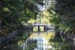 мостик в саду Хамарикю