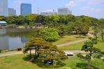 Hamarikyu Gardens, Tokio, Japan
