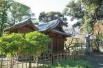 чайные домики в парке Хамарикю