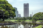 Hama-Rikyu garden in Tokio