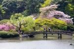 сад Хамарикю в Токио, Япония