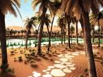эко-отель Oasis Eco Resort в Абу-Даби, ОАЭ
