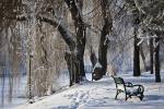 парк Херастрау зимой