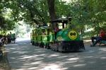 детский паровоз в парке Херастрау