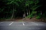 таблички в лесу Аокигахара
