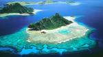 острова Фиджи с высоты