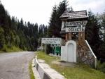 въезд на Яблуницкий перевал