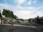 сувенирный рынок на Яблуницком перевале