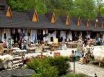сувенирный базар на Яблуницком перевале